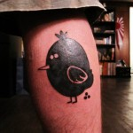 Michael Jaeger's new Abe Lincoln Jr. tattoo