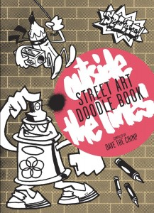 Abe Lincoln Jr. in the Street Art Doodle Book - Outside the Lines