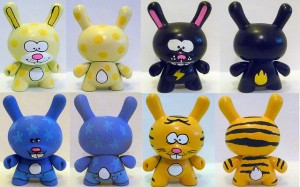 Abe Lincoln Jr's first round of Custom Dunnys - Preview