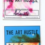 Abe Lincoln Jr. Art Cards for The Art Hustle 2 trading card series.