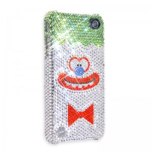 Abe Lincoln Jr. x Playbling.com's Coulrophobia iPhone Case made with real Swarovsky Crystals