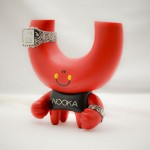Abe Lincoln Jr's Custom Nooka Toy and Watch set featured on Clocklike.de