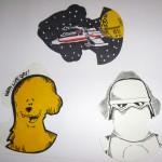 Abe Lincoln Jr. Star Wars Galaxy 6 Artist Card Commissions