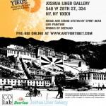 Art for Tibet x Abe Lincoln Jr. - Joshua Liner Gallery Fri. Oct. 14th