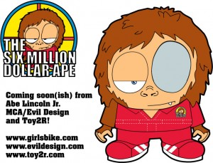 Coming Soon from Toy2R MCA/Evil Design and Abe Lincoln Jr.
