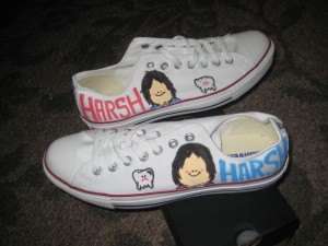 Custom Chuck Taylors for Converse