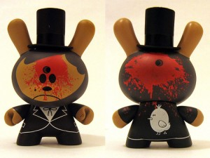 """Dead Abe"" Dunny for Kid Robot"